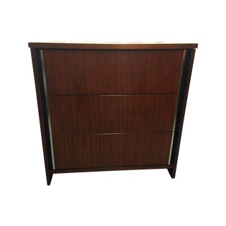 Bassett Mid-Century Modern Walnut Bachelor Dresser
