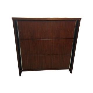 Mid-Century Modern Bassett Walnut Bachelor Dresser