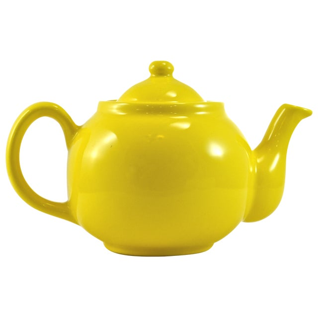 1950s Yellow Ball Teapot - Image 1 of 5