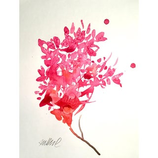Scarlet Clippings Watercolor