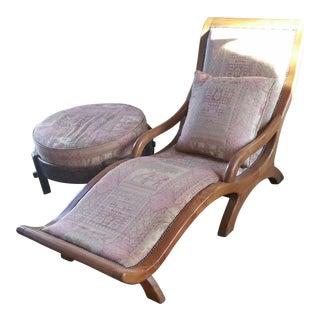 Asian Chair and Ottaman