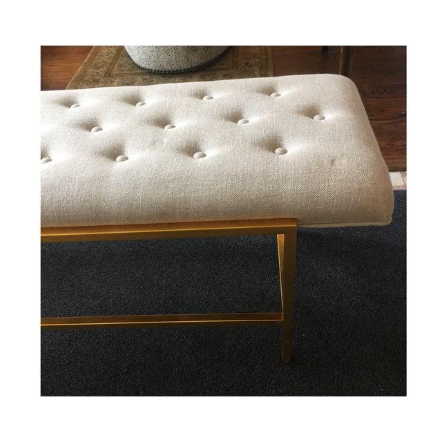 Century Furniture Modern Leg Bench - Image 3 of 5