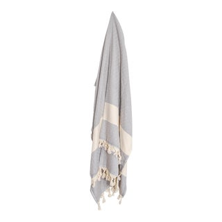 Turkish Hammam Grey Towel