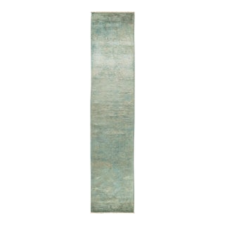 """Vibrance Hand Knotted Runner Rug - 2' 7"""" X 12' 2"""""""