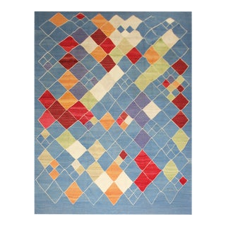 """Hand Knotted Modern Kilim by Aara Rugs Inc. - 8'4"""" X 9'9"""""""