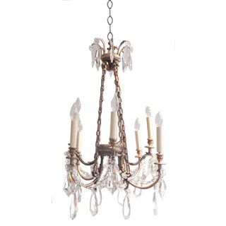 French Napoleon Empire Baccarat Crystal Chandelier