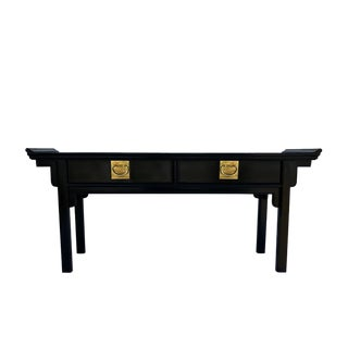 Century Furniture Chinoiserie Pagoda Console Table
