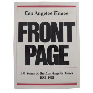 Los Angeles Times Front Page Hardcover