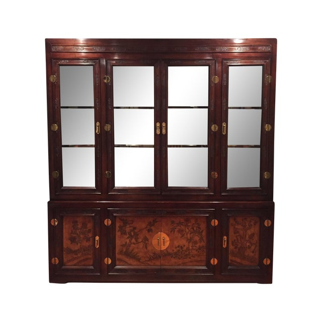 Bernhardt Credenza and China Cabinet - Image 1 of 7