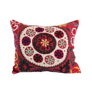 Vintage Embroidered Uzbekistan Pillow