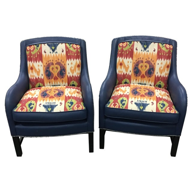 Leathercraft Club Chairs -A Pair - Image 1 of 6