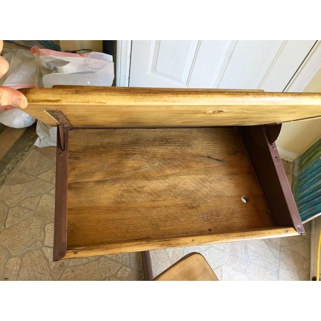 Vintage Home School Desks - Pair - Image 7 of 11