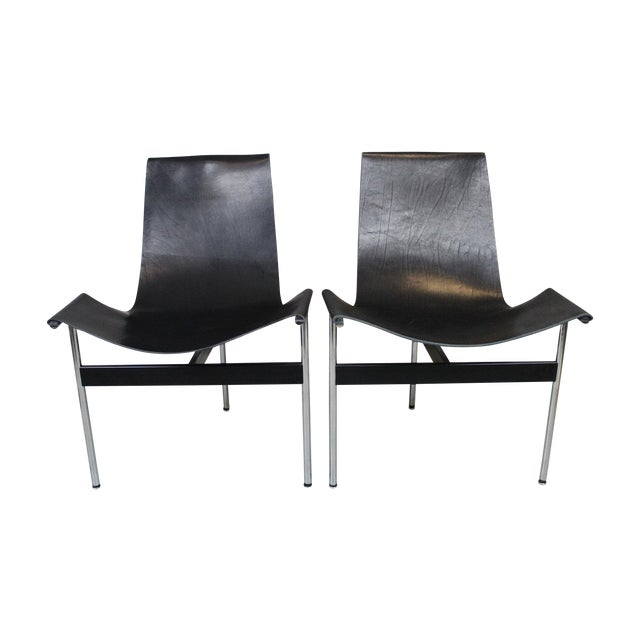 William Katavolos T-Sling Chairs - Pair - Image 1 of 7
