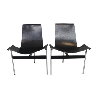 William Katavolos T-Sling Chairs - Pair