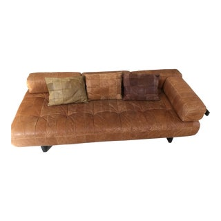 1960's Vintage De Sede Swiss DS 80 Leather Daybed