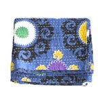 Image of Blue Kantha Suzani Throw - A Full