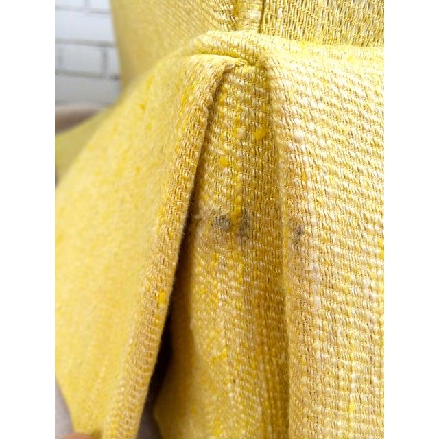 1960s Yellow Swivel Club Chairs - Image 8 of 10