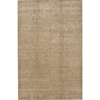"""Hand-Knotted Contemporary Rug - 6'x 9'5"""""""