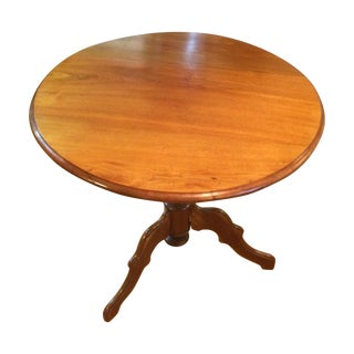 Round Flip Top Table