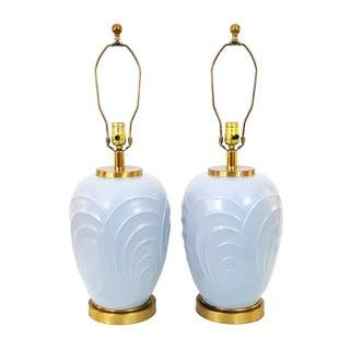 Paul Hanson Art Deco Revival Lamps - A Pair