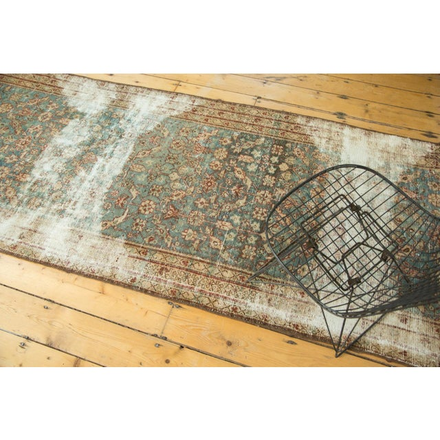 "Antique Malayer Rug Runner - 3'6"" x 13'3"" - Image 2 of 10"