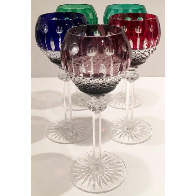 """Vintage """"King Louis"""" Stem Glasses - S/5 - Image 3 of 6"""