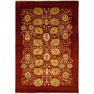 """Ottoman Hand Knotted Area Rug - 6'1"""" X 8'6"""""""