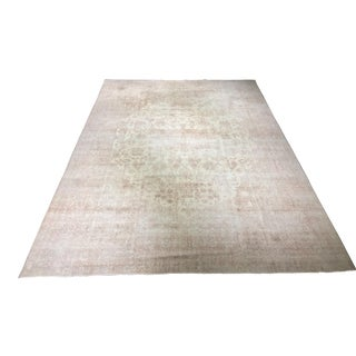 "Bellwether Rugs Antique Distressed Turkish Oushak Rug - 9'11""x13'8"""