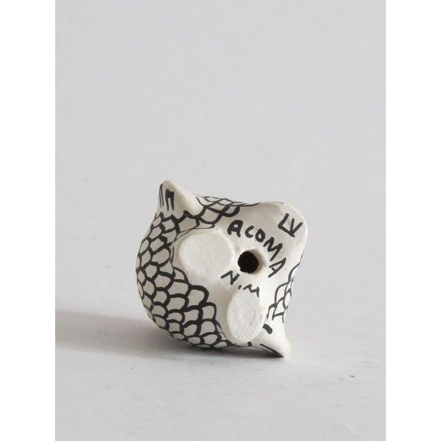 Acoma Ceramic Owl - Image 4 of 4