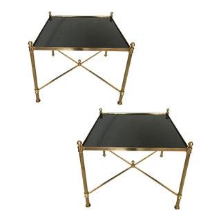 Vintage Maison Jansen Side Tables - a Pair
