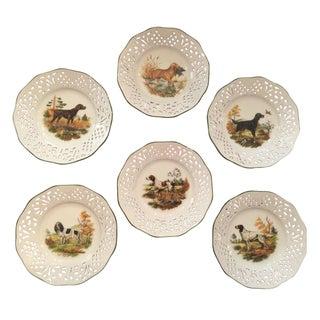 Schumann Bavaria Canine Collector Plates - Set of 6