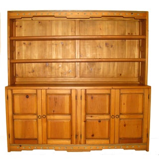 Artisan Carved Southwestern Cabinet