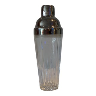 Etched Glass Cocktail Shaker