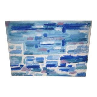 1960s Vintage Abstract Painting by Phillip Calahan