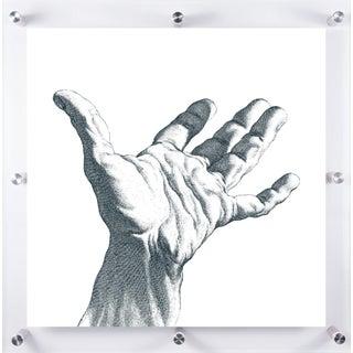 Mitchell Black Home Hand Art Installation