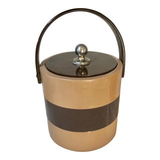 Patten Leather Ice Bucket