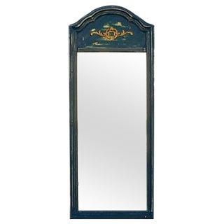 Distressed Shabby Chic Blue Mirror