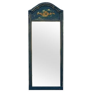 Distressed Shabby Chic Blue Mirror