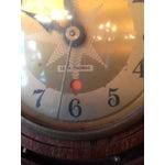 Image of Vintage Seth Thomas Nautical Wheel Clock