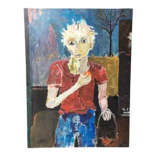 Paul Rinaldi Original Portrait Painting