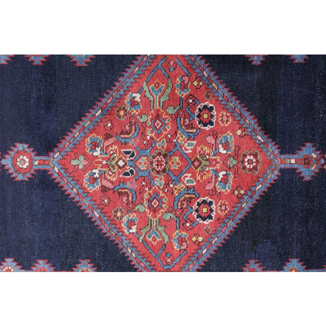 "Antique North West Persian Runner Rug - 3'5"" X 16'5"" - Image 5 of 5"
