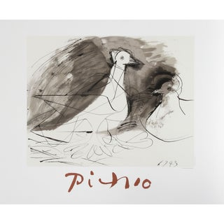 Pablo Picasso - Pigeons Estate Lithograph Poster