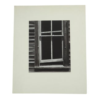 "Vintage Rustic ""Frame Window"" Photograph"