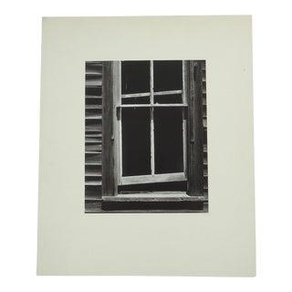 "Vintage Rustic ""Frame Window"" Photograph"