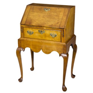 Maple Queen Anne Diminutive Desk on Frame