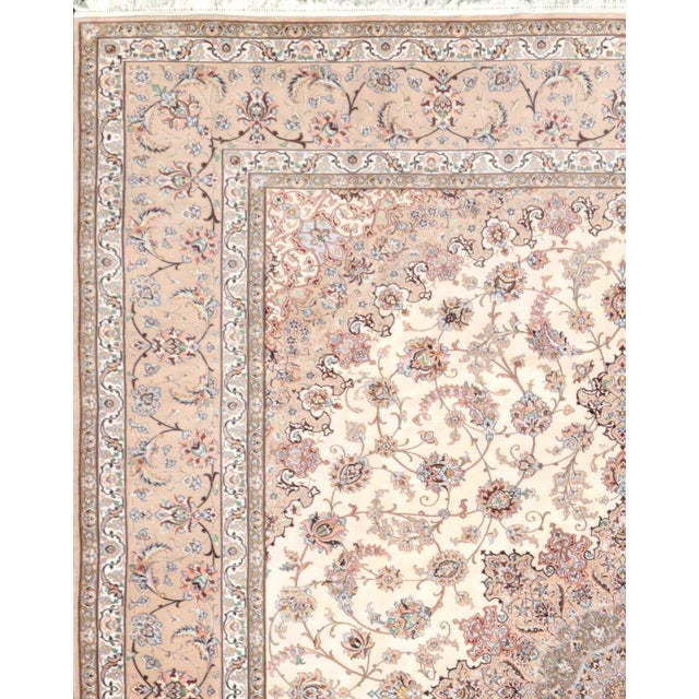 """Image of Pasargad Isfahan Area Rug - 10' X 13' 6"""""""