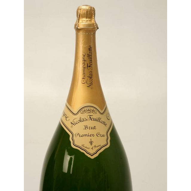Set of 6 Nicolas Feuillatte Champagne Bottle Store Props - Image 8 of 10