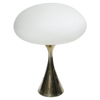 Bill Curry for Laurel Brass Mushroom Lamp