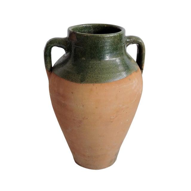Large Antique Turkish Olive Jar. Pottery - Image 1 of 5