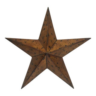 Large Metal Lone Star